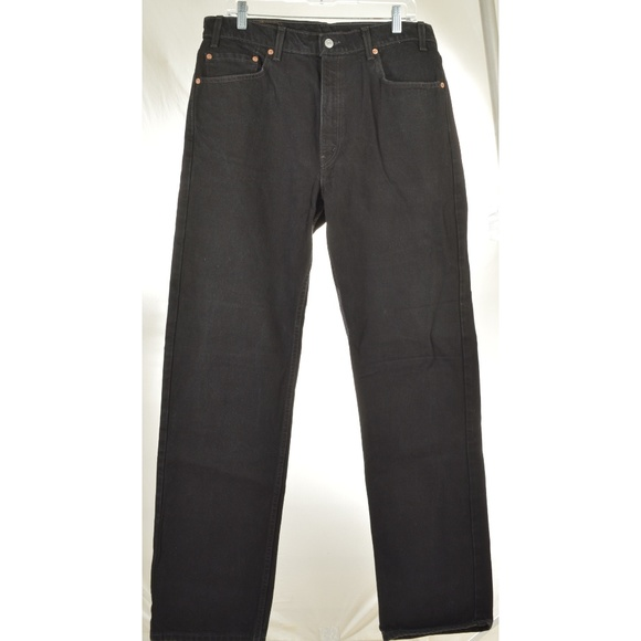 Levi's Other - Levi 505 36 x 34 black regular fit straight leg bl